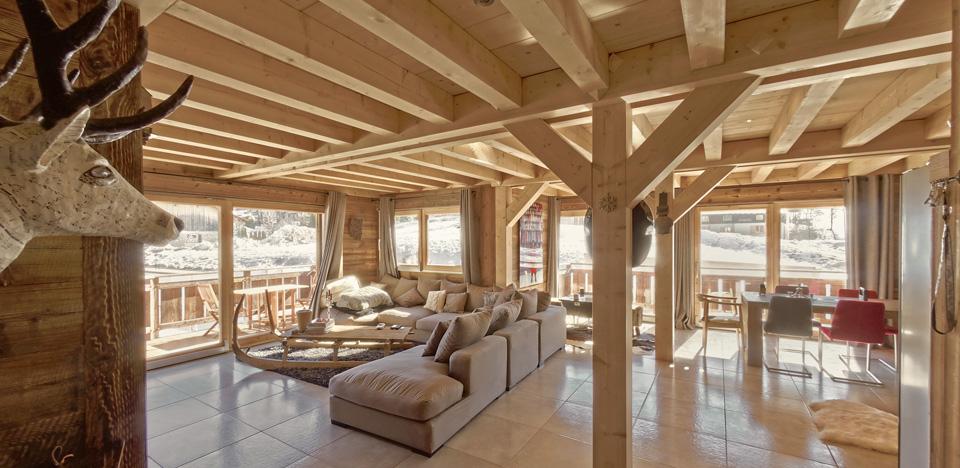 Chalets claudet maison bois haute savoie jura doubs for Constructeur maison en bois haute saone