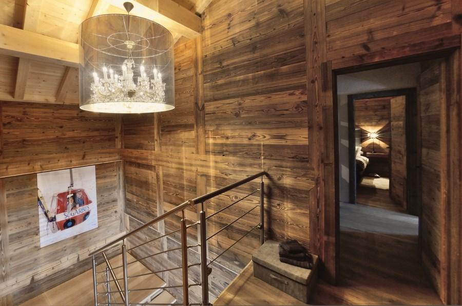 Interieur de chalet en bois chalets claudet maison bois hautesavoie jura doubs ossature bois - Interieur de chalet ...