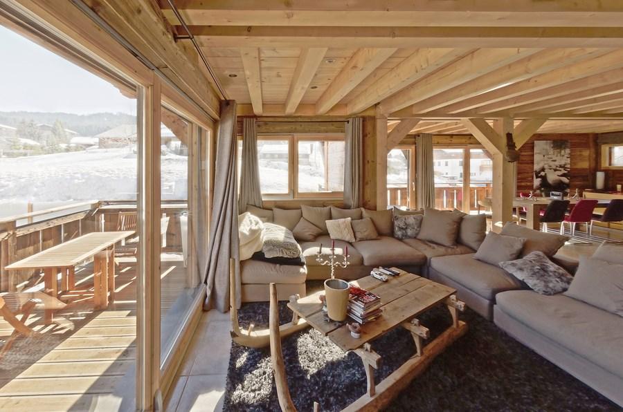 Best Deco Chalet Bois Idees - Idées décoration intérieure - lightexpo.co