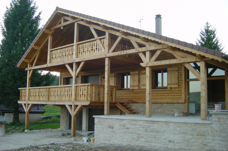 Relooking construction for Construction de chalet en bois