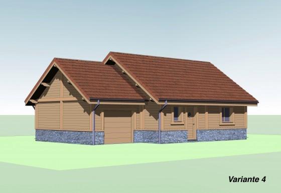 Nouveau Concept De Construction Maison Bois