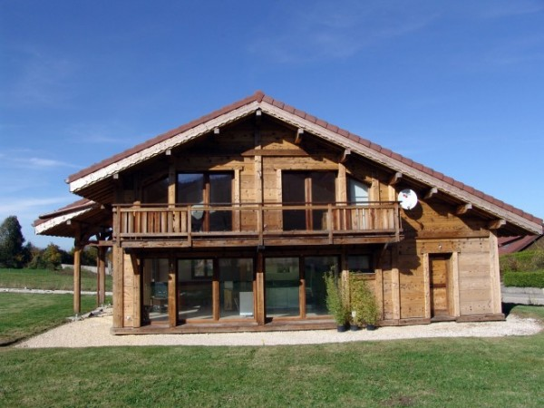 Maison Ossature Bois Doubs : Chalet ossature bois ? Bonnevaux