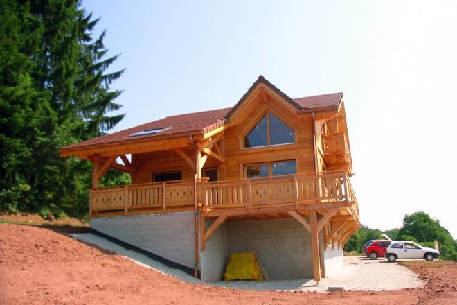 Maisons bois haute sa ne for Constructeur maison en bois haute saone