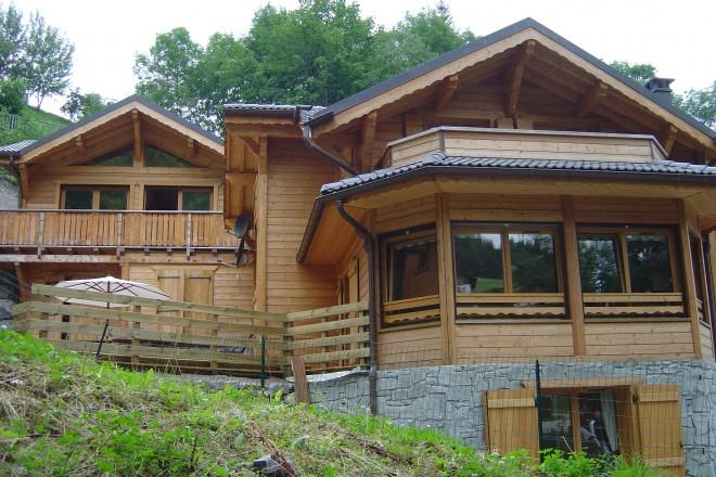 Maisons bois Haute Savoie # Maison Ossature Bois Savoie