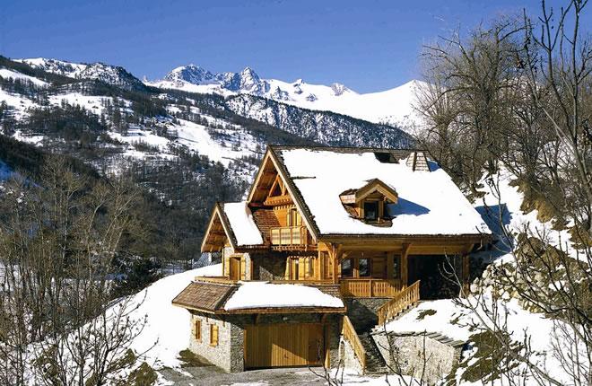 maisons bois hautes alpes